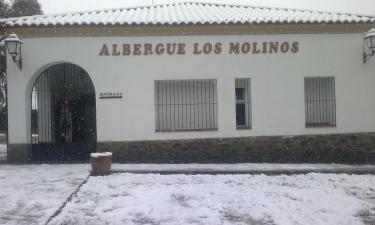 Albergue de los Molinos en Llerena a 39Km. de Calzadilla de los Barros