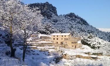 La Cabrera, Refugio de Mont-ral en Mont-ral a 16Km. de Montblanc