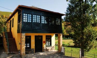Apartamentos Rurales El Balcón de Muniellos en Cangas del Narcea (Asturias)