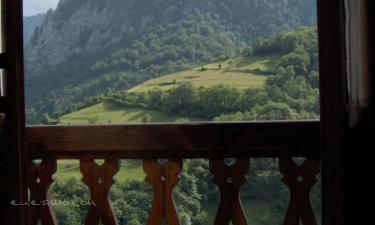 Apartamentos Rurales La Prida en Caleao (Asturias)