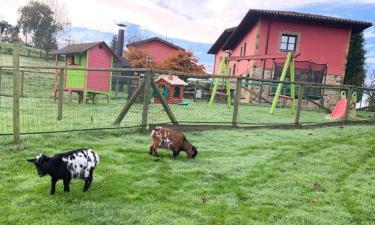Apartamentos rurales La Quintana de Romillo en Arriondas (Asturias)