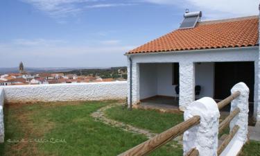 Mirador de Fuentes en Fuentes de León (Badajoz)