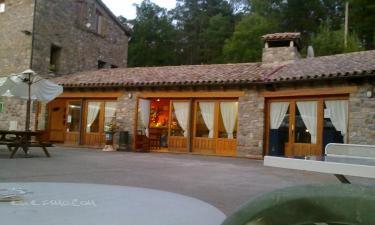 Bungalows Camping L`Espelt en Berga (Barcelona)