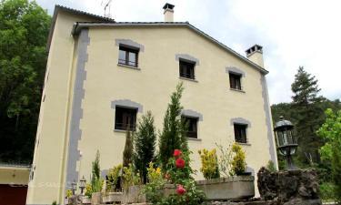 Apartamentos Cal Mosqueta en Sant Llorenç de Morunys a 40Km. de Els Hostalets