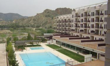 Apartamento junto al Balneario Archena en Archena a 8Km. de Ojós