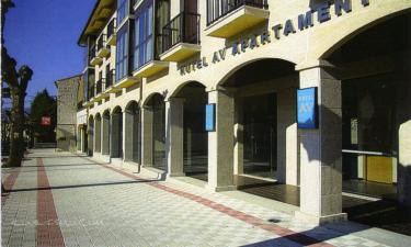 Hotel AV Apartamentos en Lobios a 10Km. de Entrimo