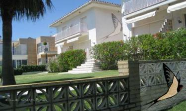 Apartamento Orenetes dOdette en Alcanar Platje a 20Km. de La Galera