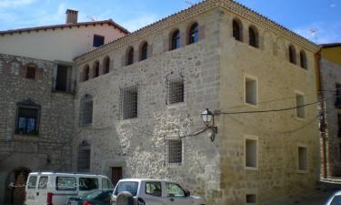 Casa de los Fernández Rajo I y II en Orihuela del Tremedal (Teruel)