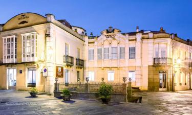 Balneario Davila en Caldas de Reis (Pontevedra)