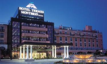 Balneario Hotel Termes Montbrió en Montbrió del Camp (Tarragona)