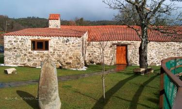 Casa rural o´lugar das xuntanzas en Baltar (A Coruña)