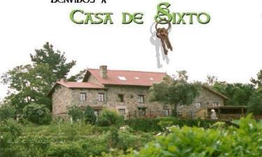 Casa de Sixto en Paderne a 27Km. de Sarandones