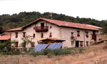 Casa Rural Izpiliku en Acosta-Okoizta (Álava)