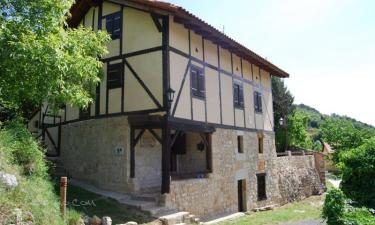 Casa rural Natura Sobron en Sobrón (Álava)