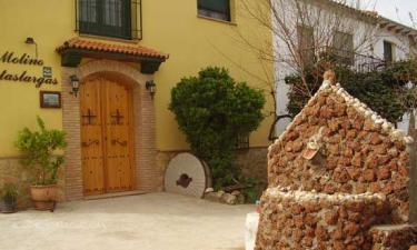 Molino Pataslargas en Cotillas a 29Km. de Segura de la Sierra