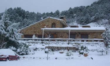 Casas rurales Los Pinos  en Riópar a 52Km. de Ayna