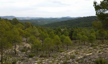Casas La Morena en Bogarra (Albacete)