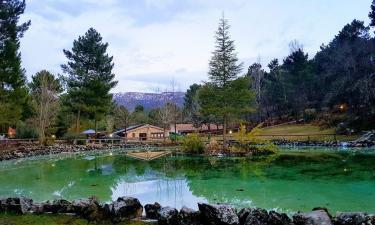 El Lagunazo. Parque natural Río Mundo en Riópar (Albacete)