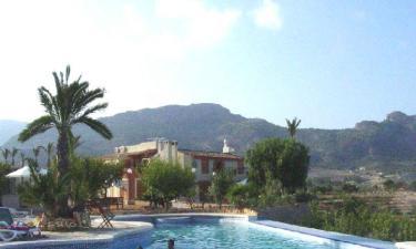Casa Rural El Almendral de Relleu en Relleu a 8Km. de Aigües