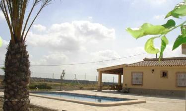 Casa Rural Los Tornajos(casa Abajo) en Orihuela a 28Km. de San Isidro de Albatera