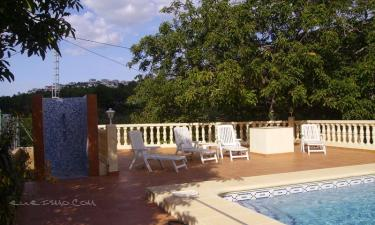 Villa Lino en Murla a 22Km. de Benimantell