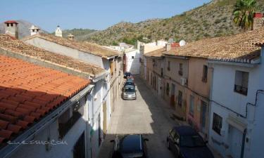Casa Calavi en Benimeli a 22Km. de Denia