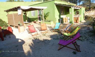 Refugio Ecoburropark en Vall de Ebo (Alicante)
