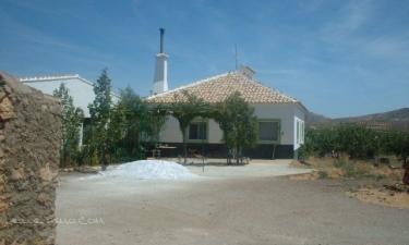 Casa Rural Cortijada Doña Juana en Oria a 21Km. de Llanos de los Olleres