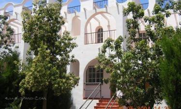 Villas Mirador del Mar en Mojácar a 47Km. de Pozo de La Higuera