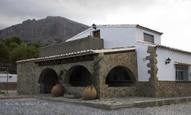 Cortijo los Farolillos en Vélez-Blanco (Almería)