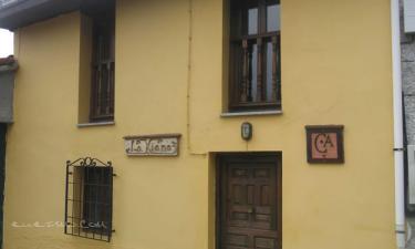 Casa Rural La Xiana en Taranes (Asturias)
