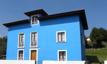 Casa Paulita en Candamo a 2Km. de San Román