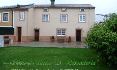 Casa de aldea A Pescadería en Barres a 9Km. de Brul