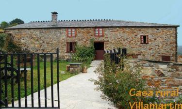 Casa Villamartin en Santa Eulalia de Oscos (Asturias)