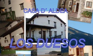 Los Duesos en Prado a 14Km. de Lastres