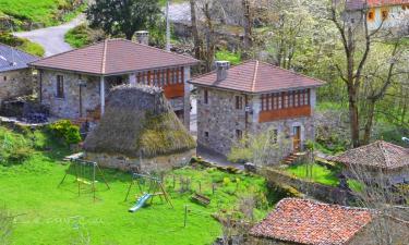 Las Corradas en Pola de Somiedo (Asturias)