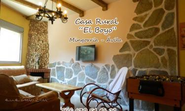 Casa Rural El Boyo en Mingorría (Ávila)