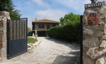 Casa Rural La Granja en Cardeñosa a 25Km. de Santo Tomé de Zabarcos