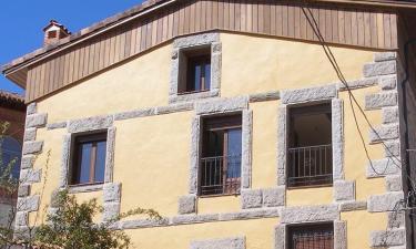 Casa Rural De Gredos en Villarejo del Valle a 21Km. de Hontanares