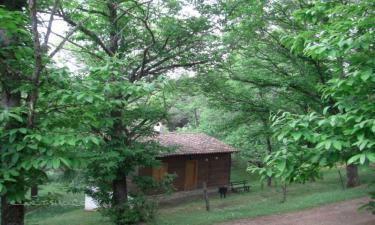 Casa Rural Cabañas de Tentudía en Calera de León a 29Km. de Calzadilla de los Barros