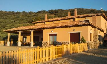 Casa Rural la Huerta de los Nogales Tres Encinas en Herrera del Duque a 52Km. de Peñalsordo