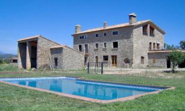 Casa Rural La Casanova del Puig en Olost a 26Km. de Can Sabate