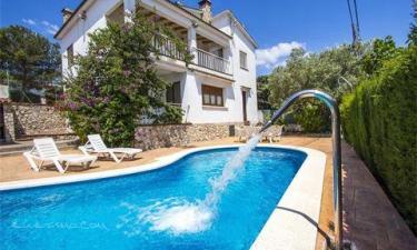 Casa de vacaciones Cal Vives en Canyelles (Barcelona)