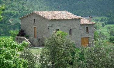 Casa Rural Puigdesala en Santa María de Merlès (Barcelona)