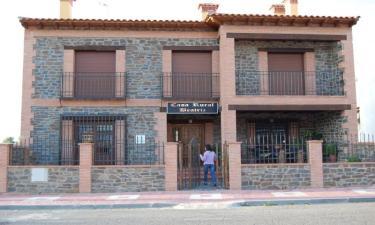 Casa Rural Beatriz en Torrecillas de la Tiesa a 38Km. de Serrejón