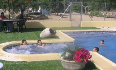 Casa rural Mas de Les Casetes en Sierra Engarcerán a 5Km. de Els Rosildos