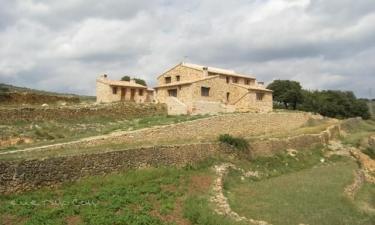Casa rural Mas de les Forques I y II en Culla (Castellón)