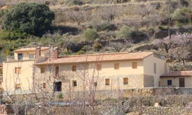 Masía rural La Roca en Torre Embesora (Castellón)