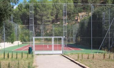 pista de tenis  Complejo Valle Espadan