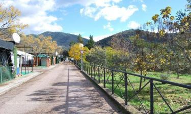 Casas Camping Puente Nuevo en Villaviciosa de Córdoba (Córdoba)